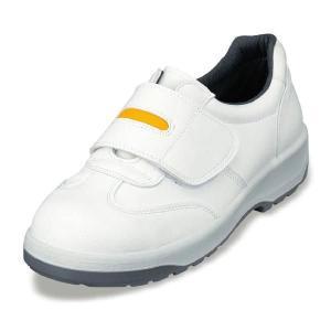 安全靴 静電靴 ANシリーズ ポリウレタン2層底安全靴 マジックテープ 人工皮革 エンゼル 23.5cm-28cm|uniform100ka
