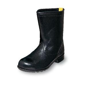安全靴 静電靴 優れた電気抵抗 引火を防ぐ ノーマルブーツ 牛革製 黒 エンゼル|uniform100ka