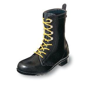 安全靴 静電靴 優れた電気抵抗 引火を防ぐ 長編みブーツ 牛革製 黒 エンゼル|uniform100ka