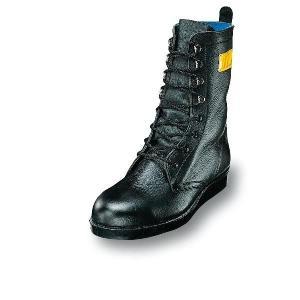 安全靴 耐熱靴 優れた耐熱性 長編みブーツ 牛革製 エンゼル|uniform100ka