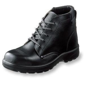 安全靴 AZシリーズ 首すっぽり ポリウレタン2層底安全靴 牛革製 サイズ30cm uniform100ka