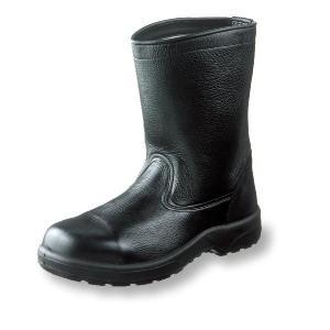 安全靴 AZシリーズ ノーマルブーツ 牛革製 ポリウレタン2層底 サイズ30cm|uniform100ka