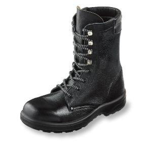 安全靴 AZシリーズ 長編みブーツ 牛革製 ポリウレタン2層底 サイズ23.5cm−28cm|uniform100ka
