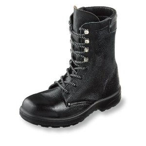 安全靴 AZシリーズ 長編みブーツ 牛革製 ポリウレタン2層底 サイズ30cm|uniform100ka