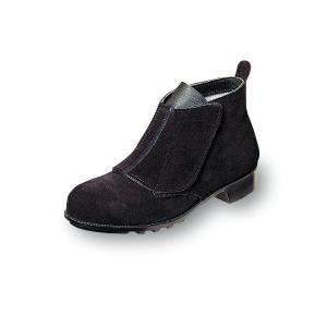 安全靴 優れた耐熱性 溶接用安全靴 足首すっぽり マジックテープ 牛革製|uniform100ka