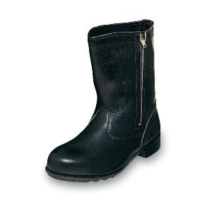 安全靴 普通作業用安全靴 チャック付ブーツ 牛革製  エンゼル|uniform100ka