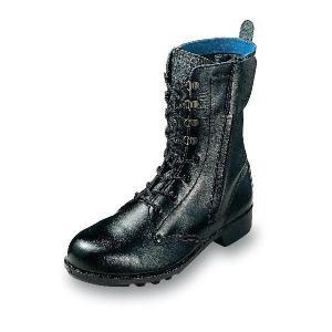 安全靴 普通作業用安全靴 長編みブーツチャック付 牛革製  エンゼル|uniform100ka