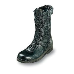 安全靴 高所作業用靴 フィットする履き心地 高い安全性 長編みブーツ 牛革製 エンゼル 29cm|uniform100ka