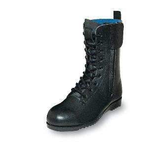 安全靴 消防作業靴 柔らかい 優れた耐滑性 消防・レンジャー靴 長編みブーツ チャック付 牛革製 エンゼル|uniform100ka