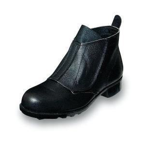 安全靴 普通作業用 足首すっぽり マジックテープ 牛革製 エンゼル uniform100ka