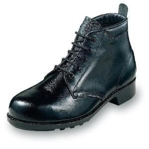 安全靴 普通作業用 足首すっぽり 紐タイプ 牛革製 エンゼル uniform100ka