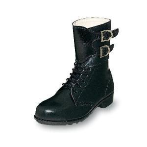 安全靴 普通作業用安全靴 留め金付ブーツ 牛革製 エンゼル|uniform100ka