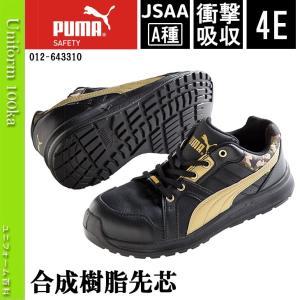安全靴 作業靴 PUMA(プーマ)エレメンタルプロテクトインパルス/幅広・甲高/JSAA A種/衝撃吸収/4E/No,64.331.0/2017年新作|uniform100ka