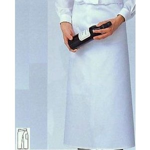 ソムリエ前掛 プロの風格 ホワイト SUNPEX|uniform100ka