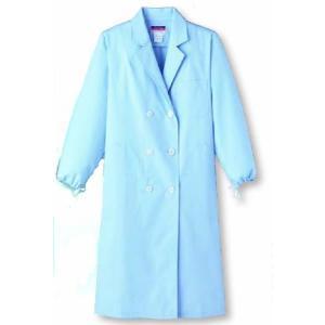 女性用診察衣 W型 長袖 デザインにもこだわる ダブルスタイル SUNPEX|uniform100ka
