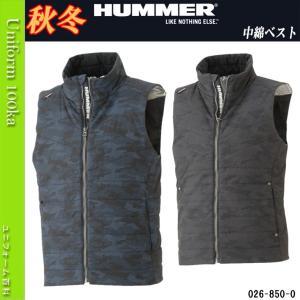 HUMMER series 850-0 ・背裏アルミプリント ・肩刺し子 ・中綿  素材・混率 ポリ...