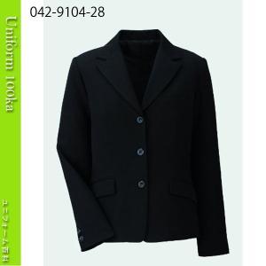 事務服 ジャケット シワになりにくい ジョーゼット ハネクトーン|uniform100ka