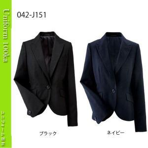 事務服 ジャケット J&Rスタイル ラメストライプ ハネクトーン|uniform100ka