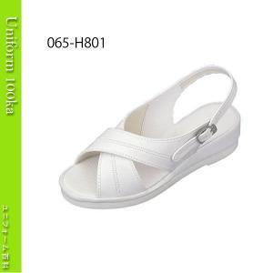 靴 シューズ ナース ドクター 医療 ナースサンダル ヘルシーエイト (クロスバンド) 白 uniform100ka