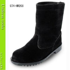 溶接・炉前作業用安全靴 耐熱性に優れる半長靴 Nosacks HR208|uniform100ka