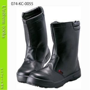 静電安全半長靴 耐滑ウレタン二層底 JSAA A種 Nosacks KC-0088|uniform100ka