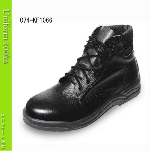 ウレタン2層底安全靴 JIS規格 軽くて動きやすいショートブーツ Nosacks KF1066|uniform100ka