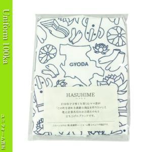 [武蔵野ユニフォーム]【HASUHIME】ハスヒメプリント/ガーゼハンカチ《091-hasuhime》 uniform100ka