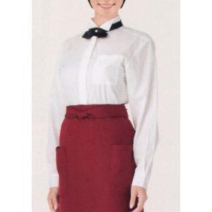 レディースウイングカラーシャツ 861209 アイトス uniform1