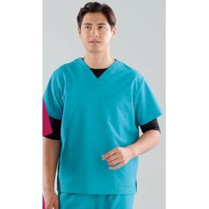 スクラブ(男女兼用) 133-83 KAZEN|uniform1