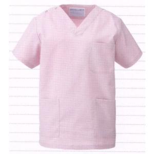 スクラブ(男女兼用・上衣) 133-97 KAZEN|uniform1
