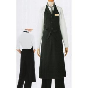 レディースベスト付エプロン 27201 ボストン uniform1