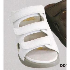 ドクターダリウス ドクターサンダル(ホワイト) DD00103 ビーウェル