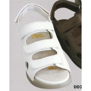 ドクターダリウス ドクターサンダル(ホワイト) DD00203 ビーウェル
