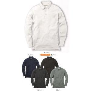ソフトドライポロシャツ(長袖) NR406 イーブンリバー uniform1