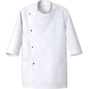 七分袖コート AA770-8 セブン(白洋社)|uniform1