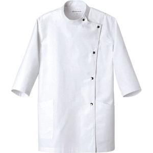 七分袖コート AA775-8 セブン(白洋社)|uniform1