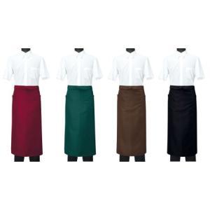 ソムリエエプロン(男女兼用) CT2564 セブン(白洋社)|uniform1