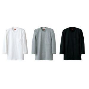 ニットシャツ QU7361 セブン(白洋社)|uniform1