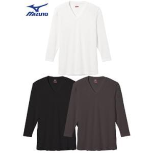 ブレスサーモエブリ・Vネック長袖シャツ C2JA5601