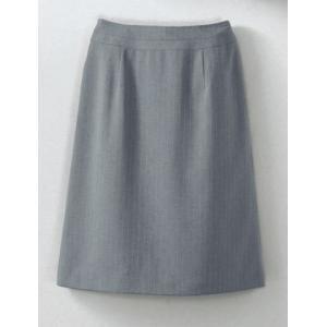 Aラインスカート(55cm丈) S-16429 セロリー(クレッセ)