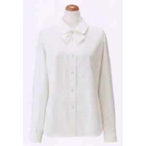長袖ブラウス(リボン付) S-36178 セロリー(クレッセ) uniform1