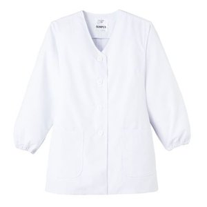 女性用調理衣 長袖 FA-330 サンペックス|uniform1
