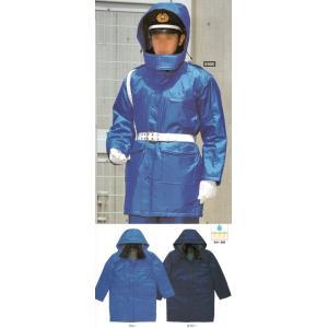 防寒警備服コート(フード付) 5900 たちばな|uniform1