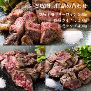 送料無料/熟成肉 1kg 詰め合わせセット 熟成 ランプ カイノミ サーロイン 肉  グルメ 美味しい おいしい お取り寄せ 贈答品 内祝い ギフト 父の日|unihamburg