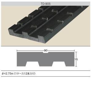 ダイアロン 通気胴縁 12本 90×15×2750mm TD-90S 樹脂|unimoku