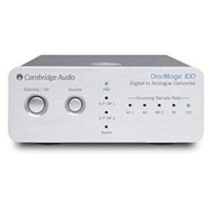 DACMAGIC100SLV CAMBRIDGE AUDIO ウォルフソンWM8742 24ビットD...