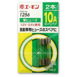 【エーモン】管ヒューズ(10A/2本入)