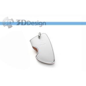 [3D Design]F15(X5) BMW用本革キーケース(C)ホワイト(7105-0132) unionproduce