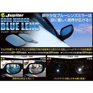 [Jupiter]L175S/L185S ムーヴ/カスタム用防眩ブルーレンズドアミラー unionproduce
