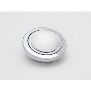 【Daikei ステアリング ホーンボタン ドーム型 シルバー】|unionproduce